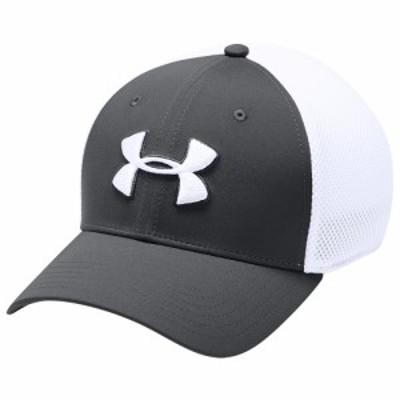 アンダーアーマー Under Armour メンズ キャップ 帽子 TB Classic Mesh Golf Cap Graphite/White