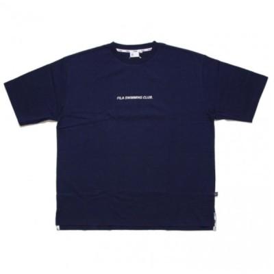 フィラ ヘリテージ Tシャツ 半袖 スイミングクラブ バックビッグFロゴ メンズ レディース 19SS