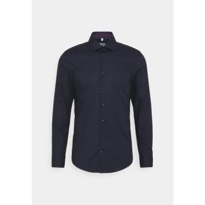 メンズ ファッション BUSINESS PATCH - Formal shirt - blau