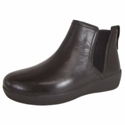 FitFlop フィットフロップ シューズ ブーツ FitFlop Womens Super Chelsea to Inside Pull Leather Boots Shoes