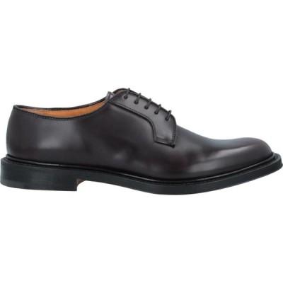 プレミアータ PREMIATA メンズ シューズ・靴 laced shoes Dark brown