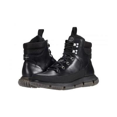 Cole Haan コールハーン メンズ 男性用 シューズ 靴 ブーツ レースアップ 編み上げ 4.Zerogrand Hiker Wp - Black Waterproof/Black Reflective