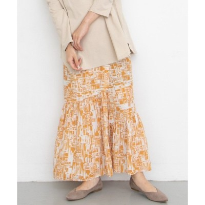 スカート townプリントマルチWAYスカート
