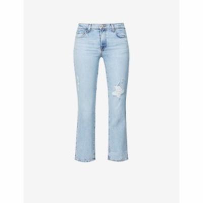 ジェイ ブランド J BRAND レディース ジーンズ・デニム ボトムス・パンツ Adele straight mid-rise jeans Archive Destruct