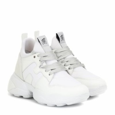 ホーガン Hogan レディース スニーカー シューズ・靴 H487 leather sneakers Bianco