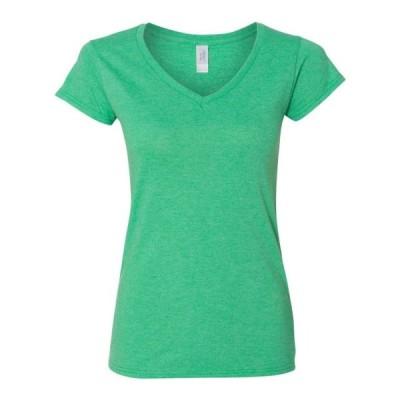 レディース 衣類 トップス Softstyle(R) Women's V-Neck T-Shirt - Gildan - Artix Tシャツ