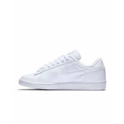ナイキ レディース スニーカー シューズ Nike Tennis Classic sneakers in white White