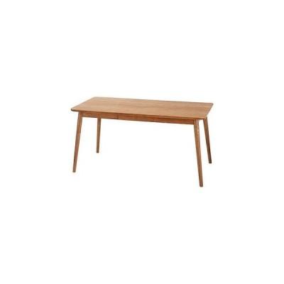 ダイニングテーブル 幅150×奥行80×高さ72 天然木 アッシュ 天然木化粧繊維板 アッシュ ウレタン塗装 代引不可