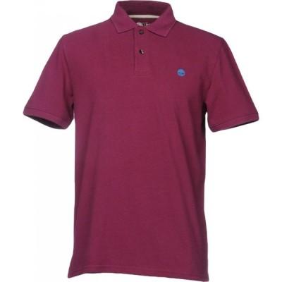 ティンバーランド TIMBERLAND メンズ ポロシャツ トップス polo shirt Mauve
