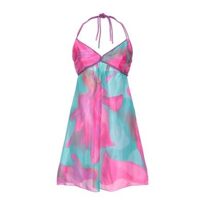 UNGARO FUCHSIA ミニワンピース&ドレス フューシャ 44 シルク 100% ミニワンピース&ドレス