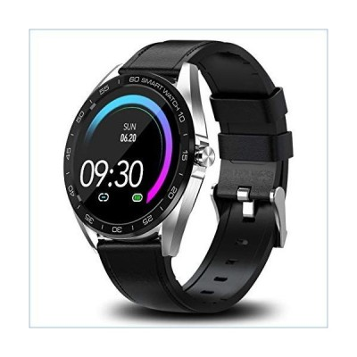 """Smart Watches for Men Android Compatible with iPhone, 1.3"""" LCD Full Touch Screen, Large Screen Bluetooth Fitness Tracker, IP67 Waterproof wi"""