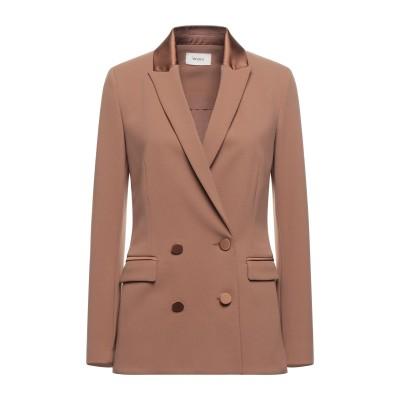 VICOLO テーラードジャケット キャメル M ポリエステル 95% / ポリウレタン 5% テーラードジャケット