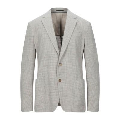 ZZEGNA テーラードジャケット ベージュ 54 コットン 92% / ナイロン 7% / ポリウレタン 1% テーラードジャケット
