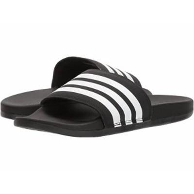 (取寄)アディダス レディース アディレッタ コンフォート adidas Women's Adilette Comfort Black/White/Black 2