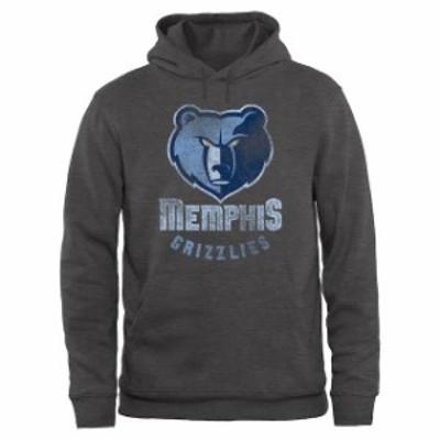 Fanatics Branded ファナティクス ブランド スポーツ用品  Memphis Grizzlies Gray Big & Tall Pullover Hoodie
