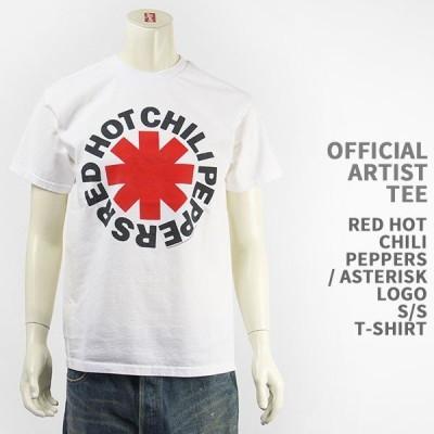 【国内正規品】OFFICIAL ARTIST TEE レッドホットチリペッパーズ アスタリスクロゴ Tシャツ RED HOT CHILI PEPPERS ASTERISK LOGO S/S T-SHIRT 44338-01