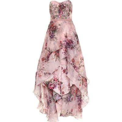 ノッテ バイ マルケッサ Marchesa Notte レディース パーティードレス ワンピース・ドレス Sequined Gown Blush