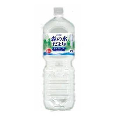 ◎2箱まで1個口◎コカ・コーラ 森の水だより 日本アルプス ペコらくボトル 2L×6本 [ケース販売] [送料無料対象外]