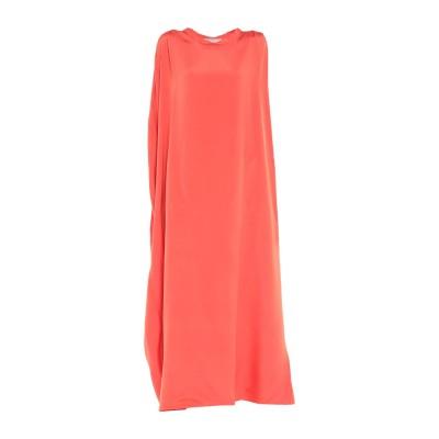 ヴァレンティノ VALENTINO ロングワンピース&ドレス オレンジ 38 シルク 100% ロングワンピース&ドレス