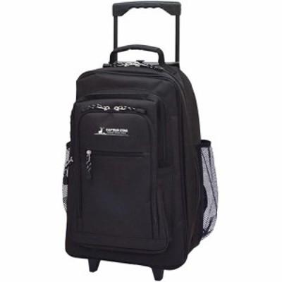 キャプテンスタッグ(CAPTAIN STAG) 600D リュック式キャリー ブラック 01242 【通勤通学 バッグ 鞄 カジュアル バック】