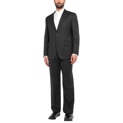 アスペジ ASPESI スーツ ブラック 54 バージンウール 100% スーツ