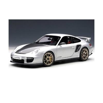 AUTOart Porsche (ポルシェ) 911 (997) GT2 RS 1/18 Silver AA77961 ミニカー ダイキャスト 自動車