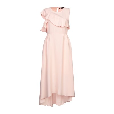 MAJE 7分丈ワンピース・ドレス ライトピンク 1 レーヨン 100% 7分丈ワンピース・ドレス