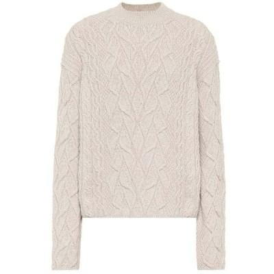 ロロピアーナ Loro Piana レディース ニット・セーター トップス Cashmere cable-knit sweater Natural