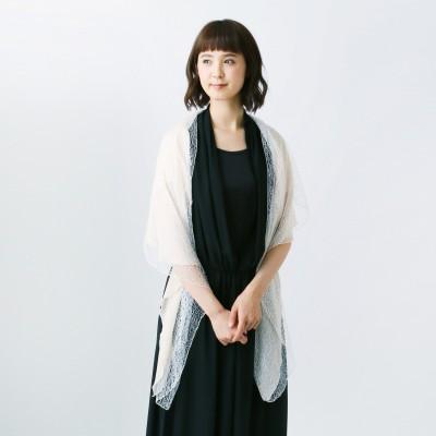 フォーマルショール風チュールボレロ【M―3L】(スウィートアズ/Sweet As)