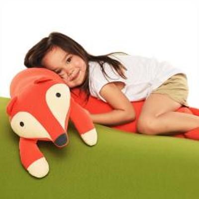Yogibo(ヨギボー)5%OFFクーポン対象商品 Yogibo Roll Animal Fox - ロール アニマル フォックス(フェストゥス) ビーズクッション 抱きまくら キツネ【1~3営業日で出荷予定】【分納の場合あり】 クーポンコード:V6DZHN5