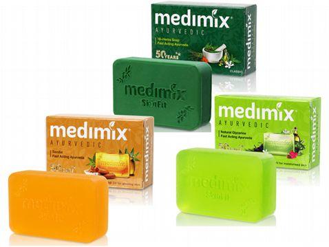 印度MEDIMIX~綠寶石皇室藥草浴美肌皂125g【D300249】