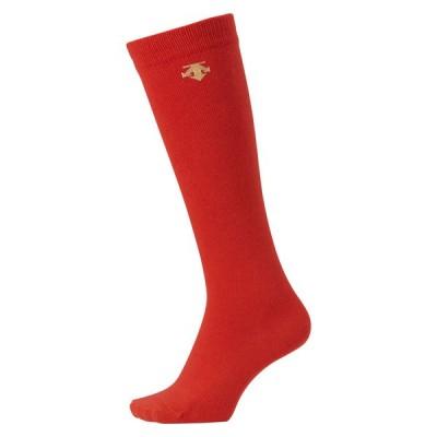 デサント ジュニア カラーソックス レッド JC-8700-RED <2020NEW>
