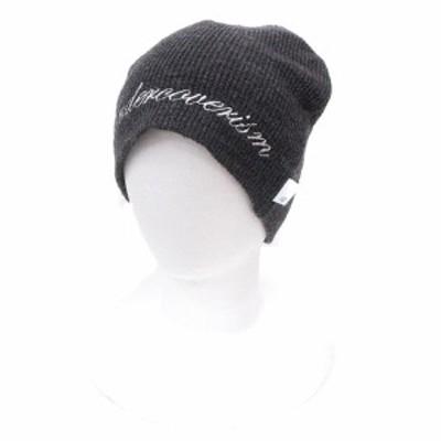 【中古】アンダーカバー UNDERCOVER 帽子 ニット帽 ワッチキャップ ビーニー F チャコールグレー /ST レディース