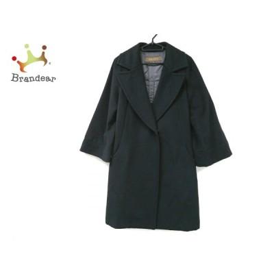 ボールジー BALLSEY コート サイズ38 M レディース 美品 黒 冬物  値下げ 20201127