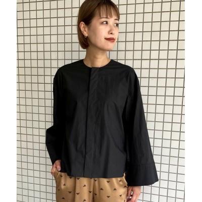 LANDWARDS / 【Liyoca】タイプライタークルーネックシャツ WOMEN トップス > シャツ/ブラウス