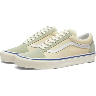 ヴァンズ Vans メンズ スニーカー シューズ・靴 UA Old Skool 36 DX OG Cream/Platinum