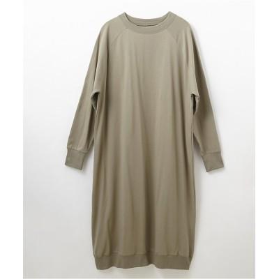 ラグランゆったりワンピース (ワンピース)Dress
