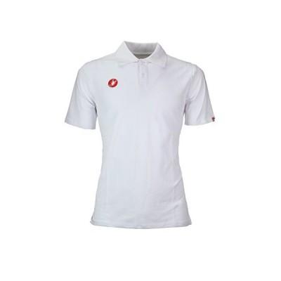 Castelli Race Day ポロシャツ メンズ ホワイト L(並行輸入品)