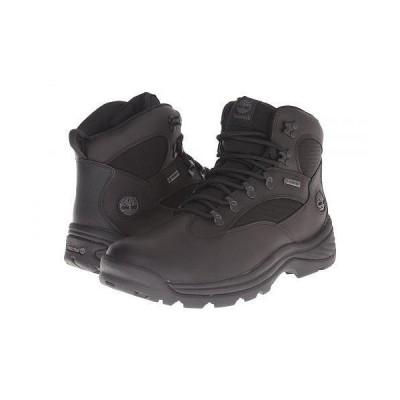 Timberland ティンバーランド メンズ 男性用 シューズ 靴 ブーツ レースアップ Chocorua Trail Mid Waterproof - Black