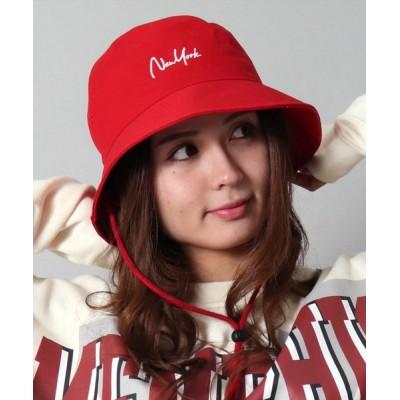 BAYBLO / 【ユニセックス】NEWYORK 刺繍 バケットハット(CR) WOMEN 帽子 > ハット