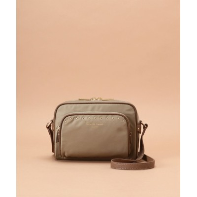 Samantha Thavasa / ナイロンスタッズスクエアショルダーバッグ 小サイズ WOMEN バッグ > ショルダーバッグ