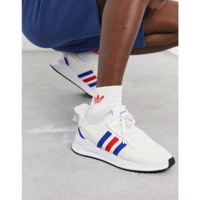 アディダス adidas Originals メンズ スニーカー シューズ・靴 U-Path Run Trainers In White ホワイト