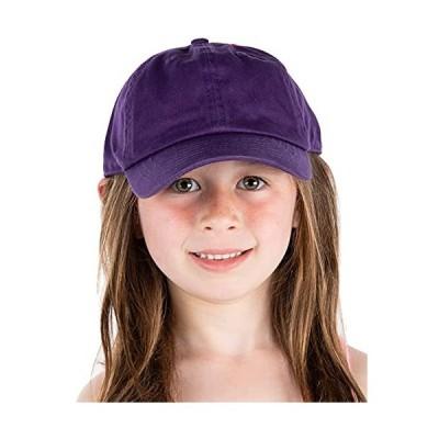 Funky Junque HAT ガールズ US サイズ: One Size カラー: パープル並行輸入品