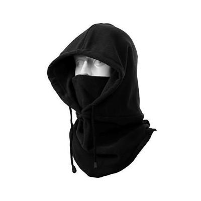 フードウォーマー - 3Way ネックウォーマー 帽子 ネックカバー ヘッドウェア バラクラバ 目出し帽 フリース 防寒