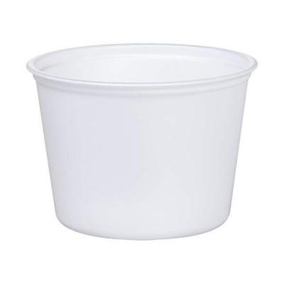 中央化学 使い捨て 容器 テイクアウト ランチ 弁当 日本製 丸型 CFカップ 本体 100枚入 360ml 直径10.2×7.2cm 10