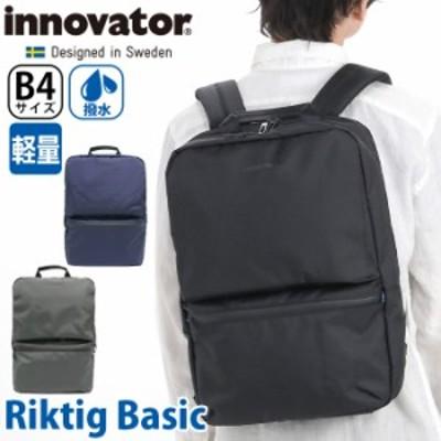 ビジネスリュック innovator イノベーター Riktig Basic ビジネス リュック ビジネスバッグ ビジカジ バッグ 通勤 通勤用 通勤かばん メ