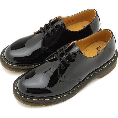 ドクターマーチン Dr.Martens 3ホールシューズ パテント ランパー 1461 PATENT LAMPER メンズ レディース 靴 BLACK  10084001 SS19