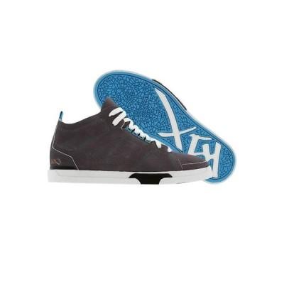 スニーカー メンズ ケイワンエックス K1X KIX Shoes 80s LE grey white cyan 0063-8145