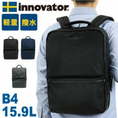 【商品レビュー記入で+5%】innovator(イノベーター) Rikitig BACKPACK(リクティーグバックパック) リュック デイパック ビジネスリュック