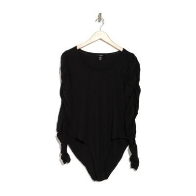 ヴェロモーダ レディース カットソー トップス Andosar Long Sleeve Bodysuit BLACK